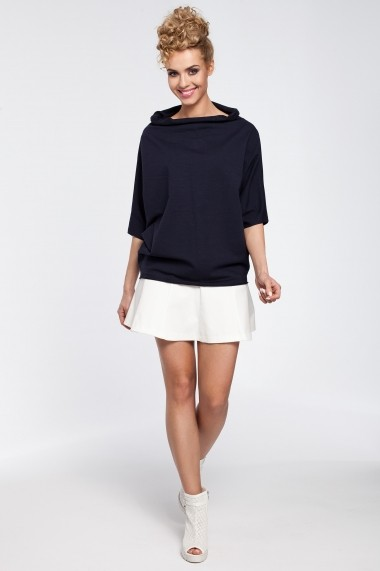 Bluza Made of Emotion M285 navy blue Bleumarin - els