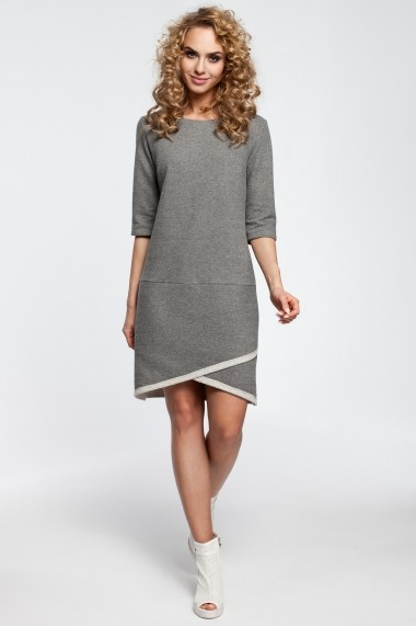 Rochie Made of Emotion M292 grey Gri - els