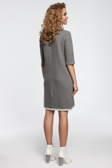 Rochie Made of Emotion M292 grey Gri