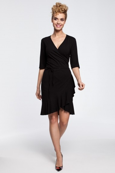Rochie Made of Emotion M294 black Negru - els