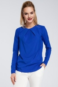 Bluza Made of Emotion M307 royal blue Albastru