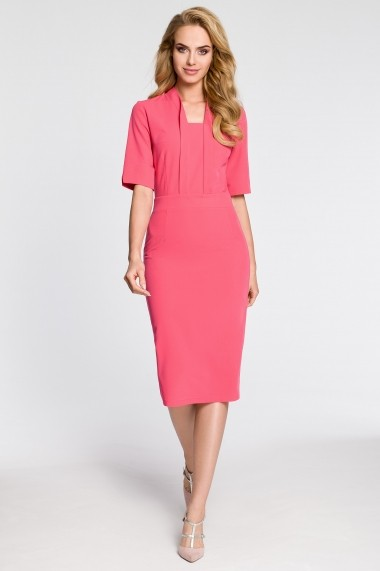 Rochie Made of Emotion GLB-M310 pink Roz - els