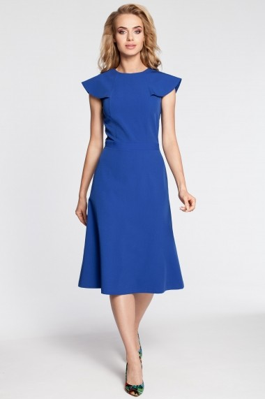 Rochie Made of Emotion GLB-M311 royal blue Albastra - els