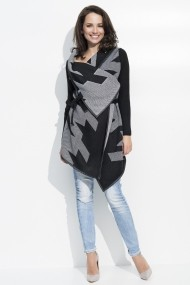 Cardigan Numinou GLB-NU s15 black-grey Negru - els