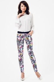 Pantaloni PEPERUNA PE163 PRINTS Multicolor - els