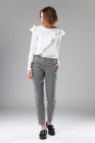 Pantaloni RITA KOSS RK121 Alb - els