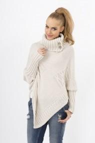 Пуловер Makadamia GLB-s09 beige бежово - els