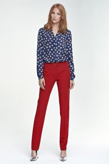 Pantaloni drepti Nife GLB-sd25-red rosu - els