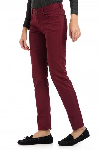 Pantaloni Galvanni GLVSW16840051 Bordo