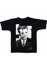 Tricou Nicolae Ceausescu negru