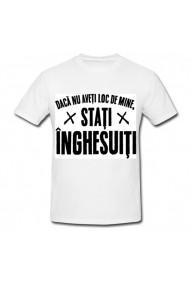 Tricou Inghesuiti alb
