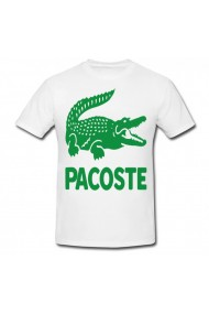Tricou Pacoste alb