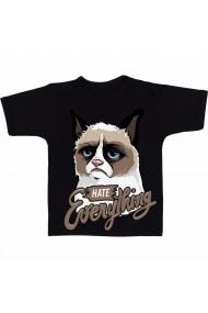 Tricou Hate Everything negru