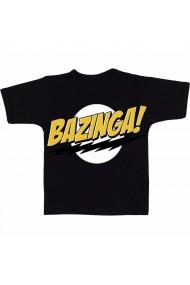 Tricou Bazinga! negru