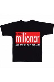Tricou Nu sunt milionar negru