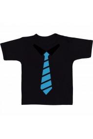 Tricou Cravata negruastra negru