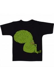 Tricou Creierul broastei negru