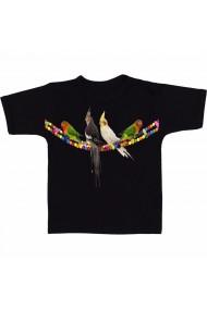 Tricou Cockatiel angel negru