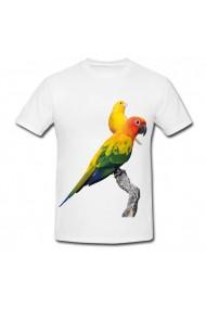 Tricou Papagali alb
