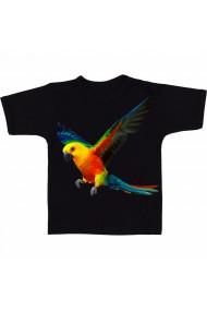 Tricou Papagal zburator negru