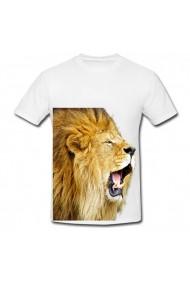 Tricou Lion Roar alb