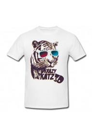Tricou Katz 3D alb