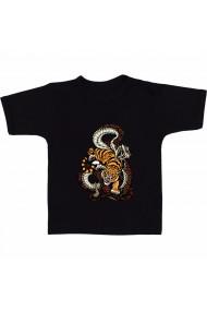 Tricou Tigru si sarpe negru