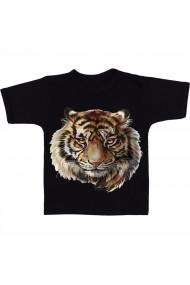 Tricou Tiger face negru