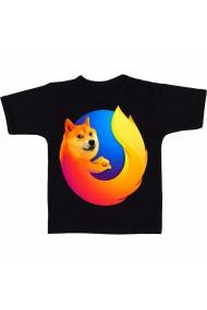 Tricou Firefox negru
