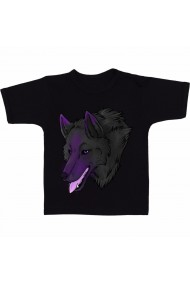 Tricou Wolf avatar negru
