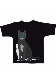 Tricou Pisica ruseasca negru