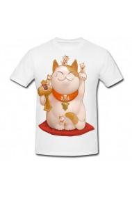 Tricou Simbol chinezesc alb