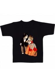 Tricou Casatorie pisici negru