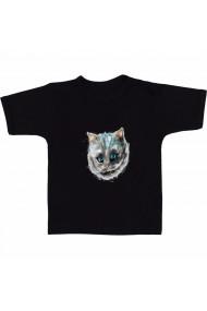 Tricou Pisica zombi negru