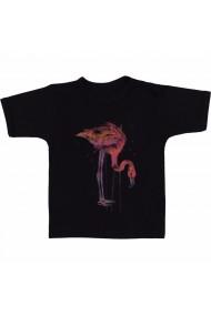 Tricou Flamingo 4 negru