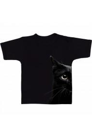 Tricou Black cat negru