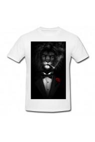 Tricou Lion alb