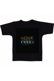 Tricou Audi Love negru