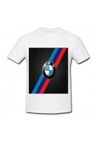 Tricou BMW color alb