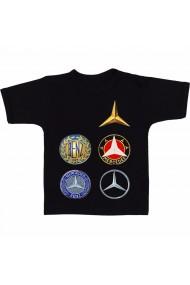 Tricou Logo Mercedes negru