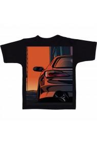 Tricou GTI Animated negru