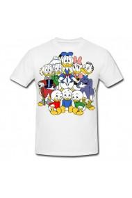 Tricou Familia Donald Duck alb