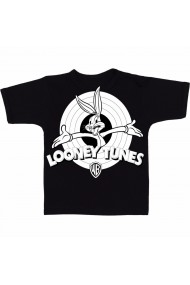 Tricou Looney Tunes logo negru