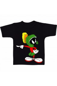 Tricou Marvin the Martian negru