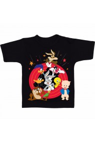 Tricou Looney Tunes negru