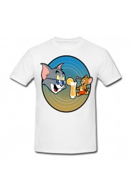 Tricou Tom and Jerry summer alb