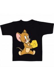 Tricou Jerry mananca cascaval negru