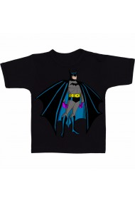 Tricou Batman cartoon negru