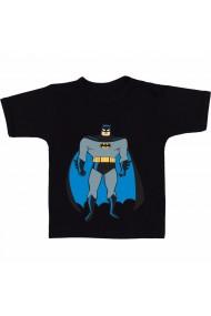 Tricou Batman super-erou negru