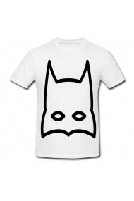 Tricou Batman, Portret masca alb